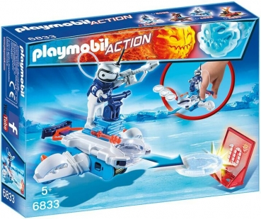 PLAYMOBIL®-Icebot mit Disc-Shooter (6833)