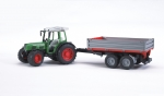 BRUDER�-Fendt 209 S mit Bordwandanh�nger (02104)
