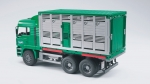 BRUDER®-MAN TGA Tiertransport incl. 1 Rind (02749)