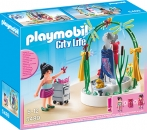 PLAYMOBIL�-Dekorateurin/LED-Podest (5489)