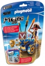 PLAYMOBIL�-Blaue App-Kanone mit Piraten-Offizier (6164)
