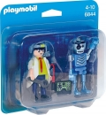 PLAYMOBIL®-Duo Pack Professor und Roboter (6844)