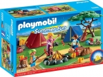 PLAYMOBIL�-Zeltlager mit LED-Lagerfeuer (6888)