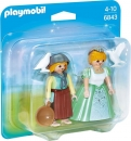 PLAYMOBIL®-Duo Pack Prinzessin und Magd (6843)