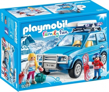 PLAYMOBIL® Auto mit Dachbox (9281)