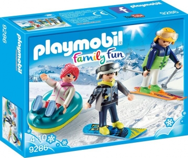 PLAYMOBIL® Freizeit-Wintersportler (9286)