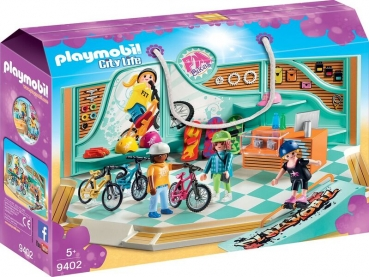 PLAYMOBIL® Bike & Skate Shop (9402)