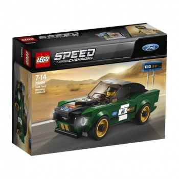 LEGO®-Speed Champions 1968 Ford Mustang Fastback (75884)