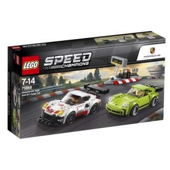 LEGO®-Speed Champions Porsche 911 RSR und 911 Turbo 3.0 8 (75888)