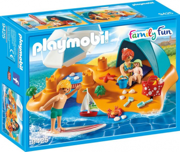 PLAYMOBIL®Familie am Strand (9425)