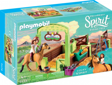 "PLAYMOBIL®-Pferdebox ""Lucky & Spirit"" (9478)"