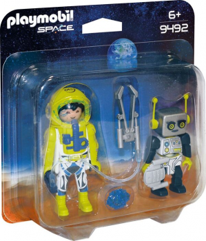 PLAYMOBIL®Duo Pack Astronaut und Roboter (9492)