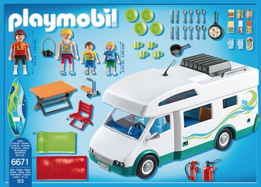 PLAYMOBIL®-Familien-Wohnmobil (6671)